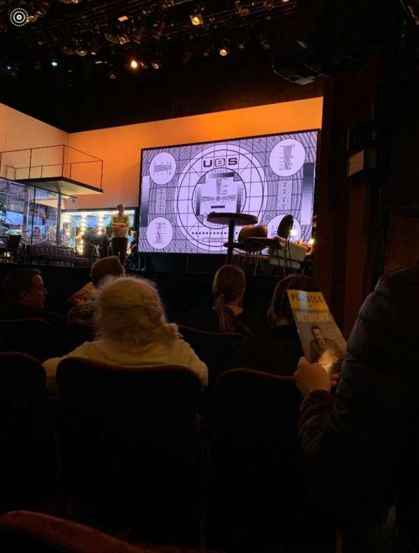 Belasco Theatre, sección: Orchestra R, fila: D, asiento: 10