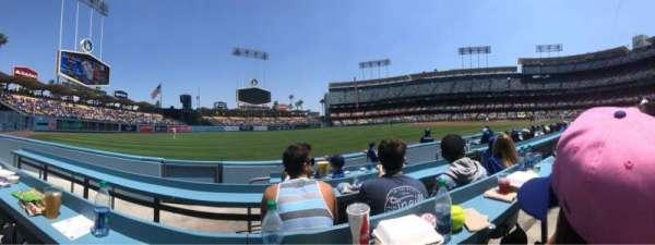 Dodger Stadium, sección: 45BL, fila: CC, asiento: 4