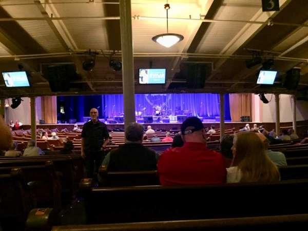 Ryman Auditorium, sección: MF-3, fila: Y, asiento: 15