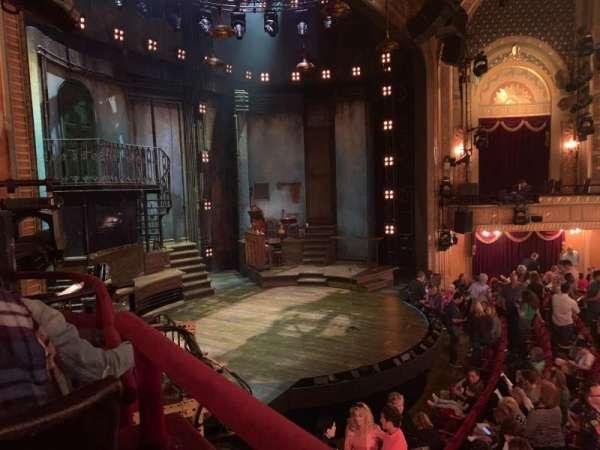 Walter Kerr Theatre, sección: Box B, asiento: 7