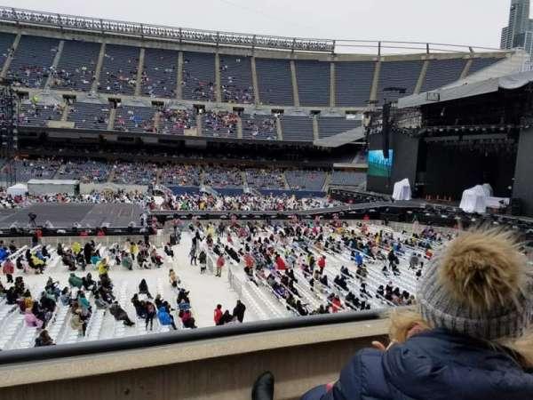 Soldier Field, sección: 207, fila: 2, asiento: 2