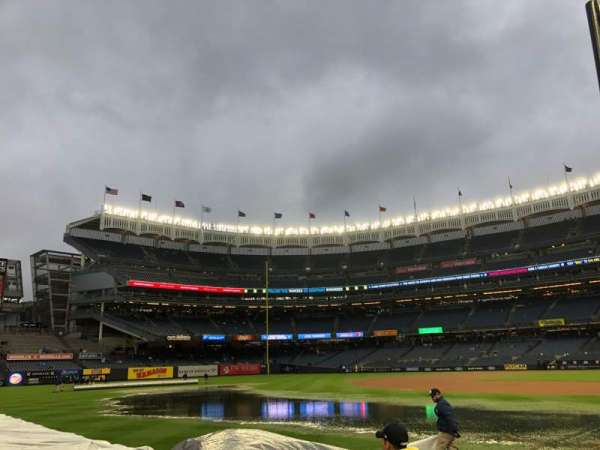 Yankee Stadium, sección: 129, fila: 3, asiento: 7