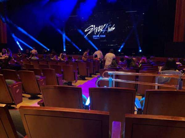 Prudential Hall at the New Jersey Performing Arts Center, sección: ORCH R, fila: G, asiento: 6