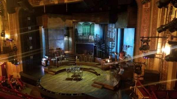 Walter Kerr Theatre, sección: Mezzanine, fila: D, asiento: 20