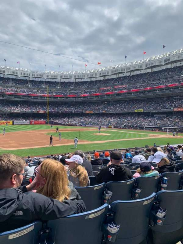 Yankee Stadium, sección: 126, fila: 11, asiento: 14