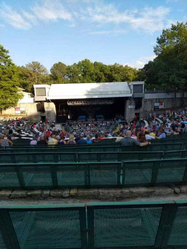 Cadence Bank Amphitheatre, sección: Orch-C, fila: U, asiento: 40