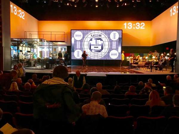 Belasco Theatre, sección: Orchestra C, fila: L, asiento: 107