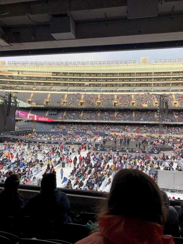 Soldier Field, sección: 239, fila: 5, asiento: 11
