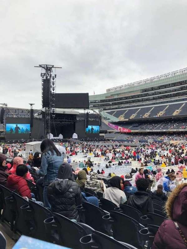 Soldier Field, sección: 131, fila: 13, asiento: 12