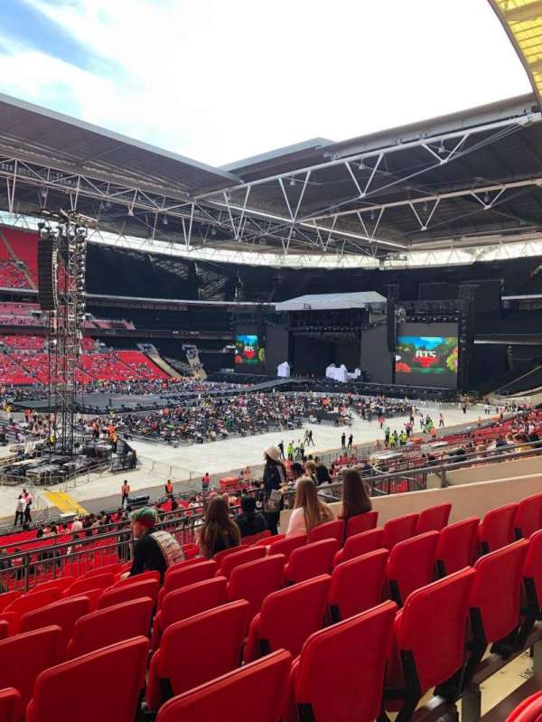 Wembley Stadium, sección: 104, fila: 39, asiento: 37