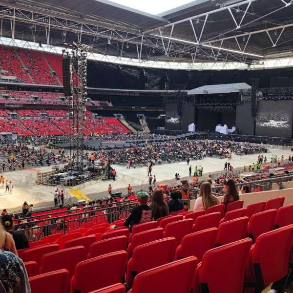 Wembley Stadium, sección: 104, fila: 39, asiento: 36