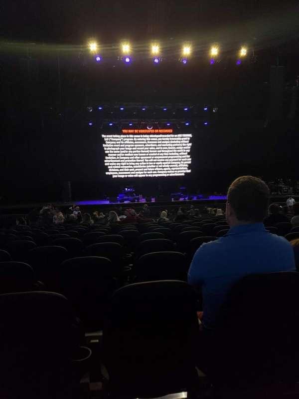 Hollywood Casino Amphitheatre (Tinley Park), sección: 103, fila: EE, asiento: 34