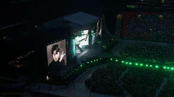 Wembley Stadium , sección: 526, fila: 42, asiento: 393