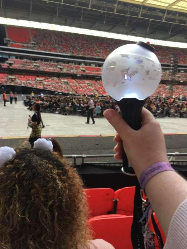 Wembley Stadium, sección: 126, fila: 5, asiento: 95
