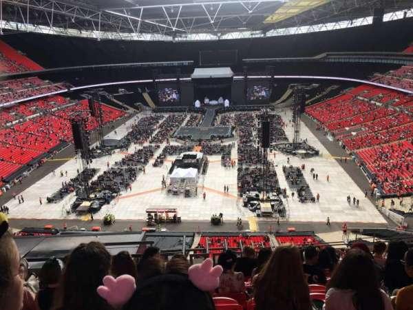 Wembley Stadium, sección: 513, fila: 23, asiento: 378