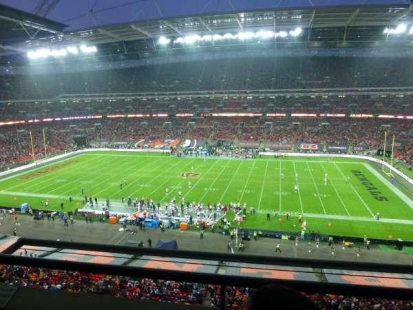 Wembley Stadium, sección: 525, fila: 2, asiento: 337