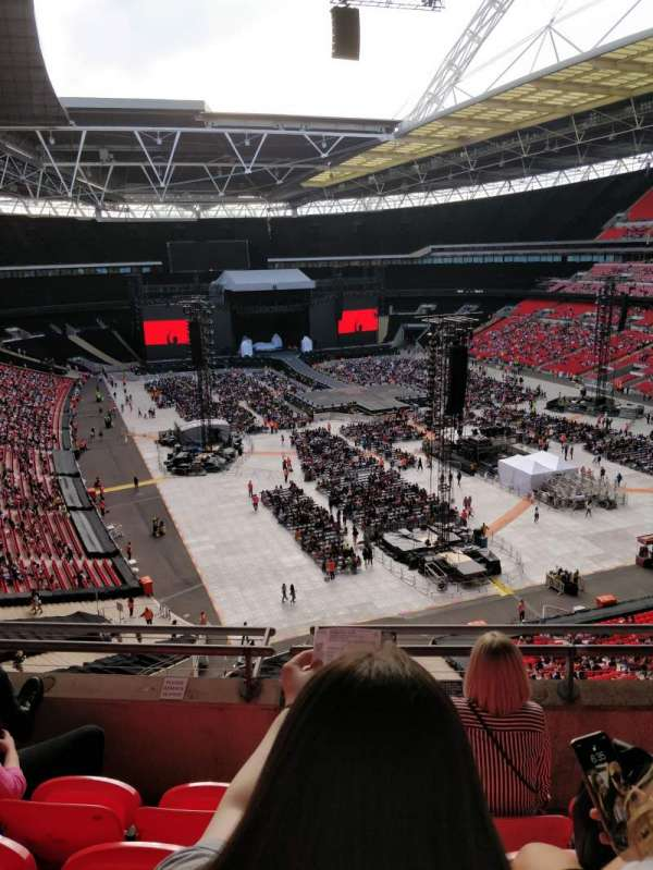 Wembley Stadium, sección: 517, fila: 4, asiento: 112