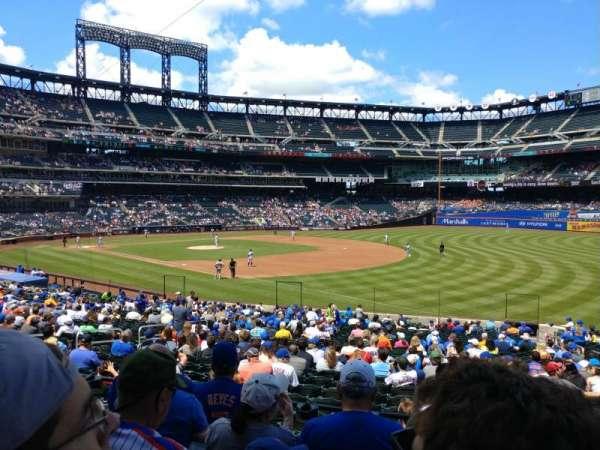 Citi Field, sección: 109, fila: 27, asiento: 15