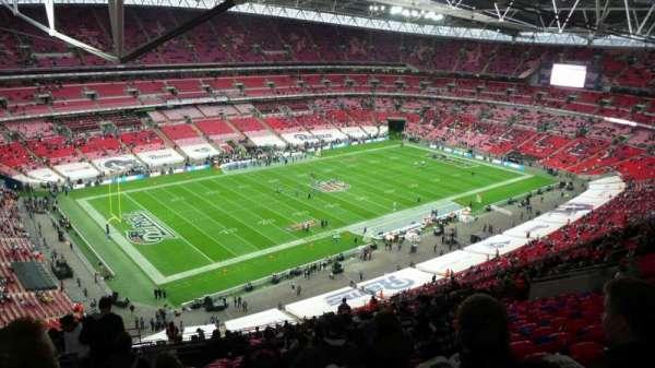 Wembley Stadium, sección: 532, fila: 31, asiento: 163