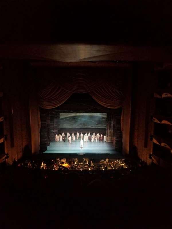 Metropolitan Opera House - Lincoln Center, sección: Dress Circle, fila: F, asiento: 104