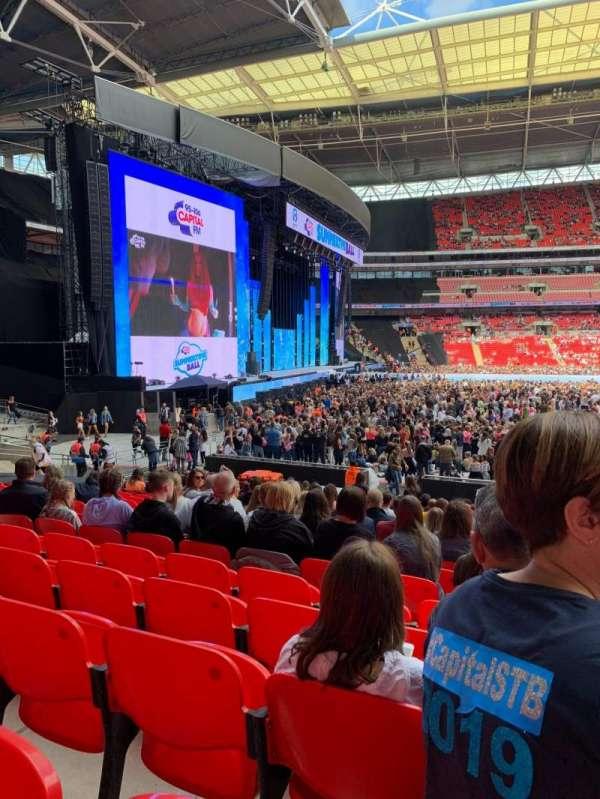 Wembley Stadium, sección: 126, fila: 20, asiento: 88