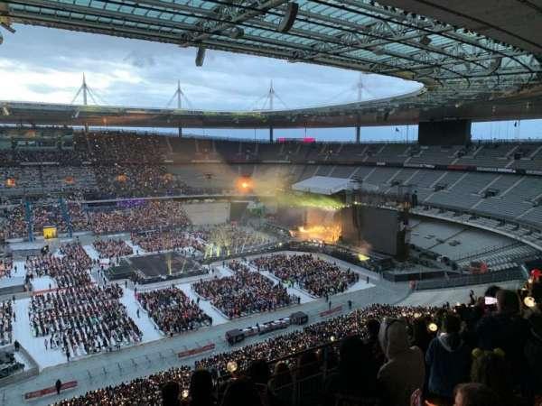 Stade de France, sección: D9, fila: 73, asiento: 22