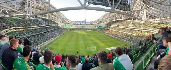 Aviva Stadium, sección: 516, fila: K, asiento: 6