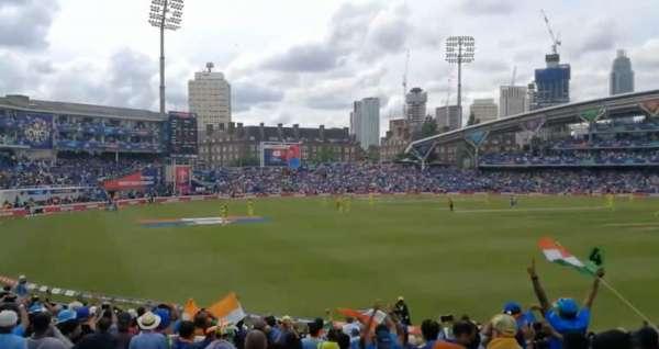 Kia Oval, sección: Peter May Stand, fila: 21, asiento: 158