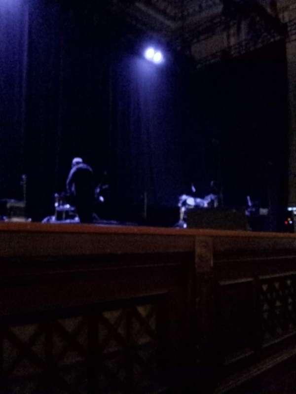 Usher Hall, sección: Stalls, fila: B, asiento: 45