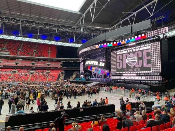 Wembley Stadium, sección: 142, fila: M, asiento: 245