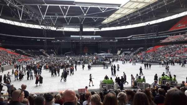 Wembley Stadium, sección: 113, fila: 19, asiento: 52