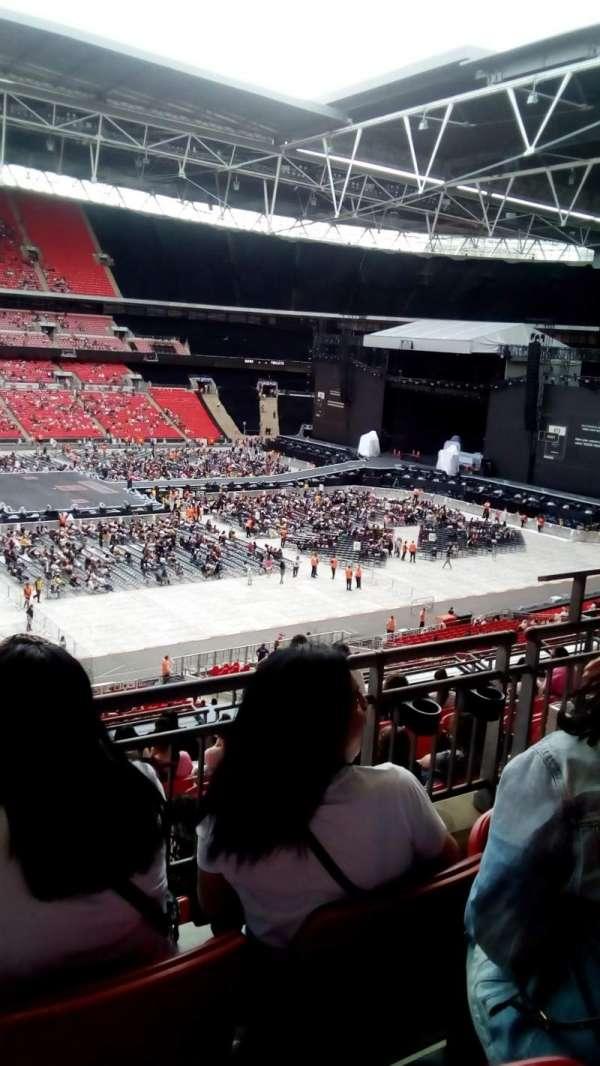 Wembley stadium, sección: 202, fila: 10, asiento: 30
