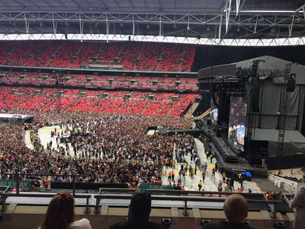 Wembley Stadium, sección: 249, fila: 5, asiento: 226