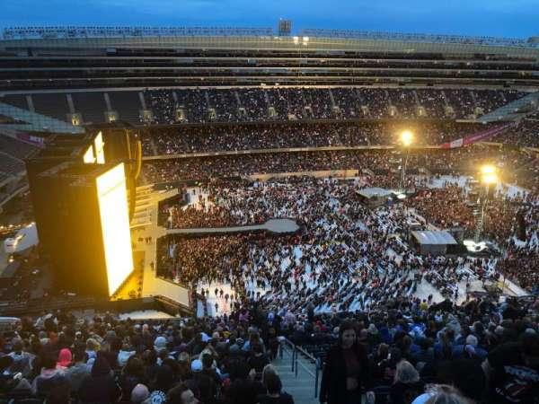 Soldier Field, sección: 441, fila: 32, asiento: 22