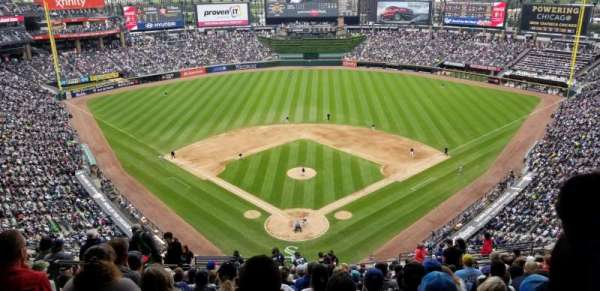 Guaranteed Rate Field, sección: 531, fila: 20, asiento: 17