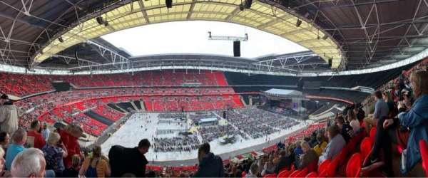 Wembley Stadium, sección: 503, fila: 62, asiento: 64
