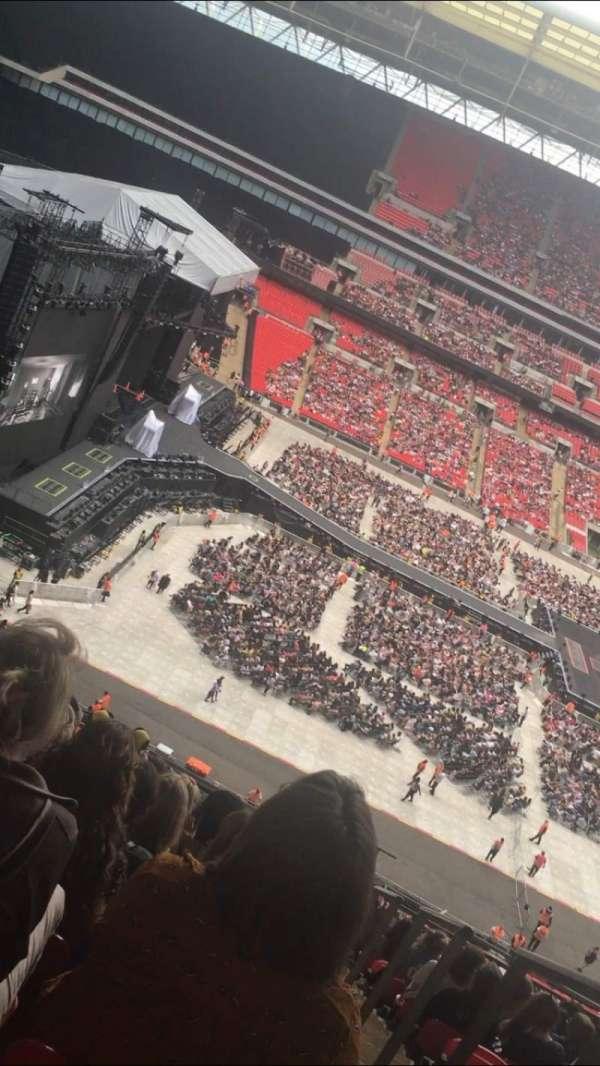 Wembley Stadium, sección: 529, fila: 13, asiento: 78