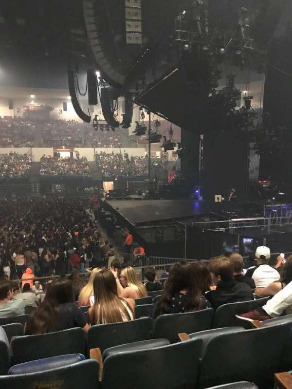 Pechanga Arena, sección: L11, fila: 7, asiento: 10