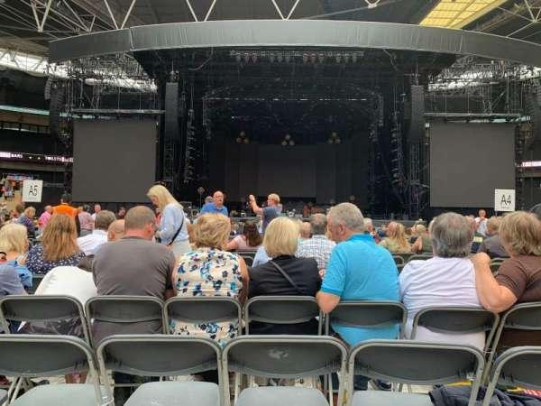 Wembley Stadium, sección: B4, fila: N, asiento: 16