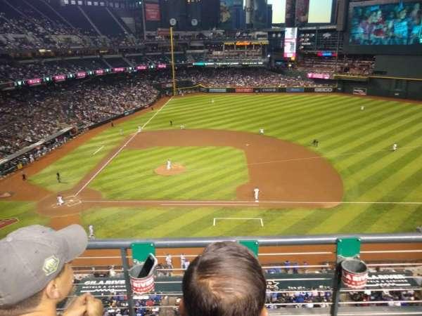 Chase Field, sección: 310, fila: 2, asiento: 8