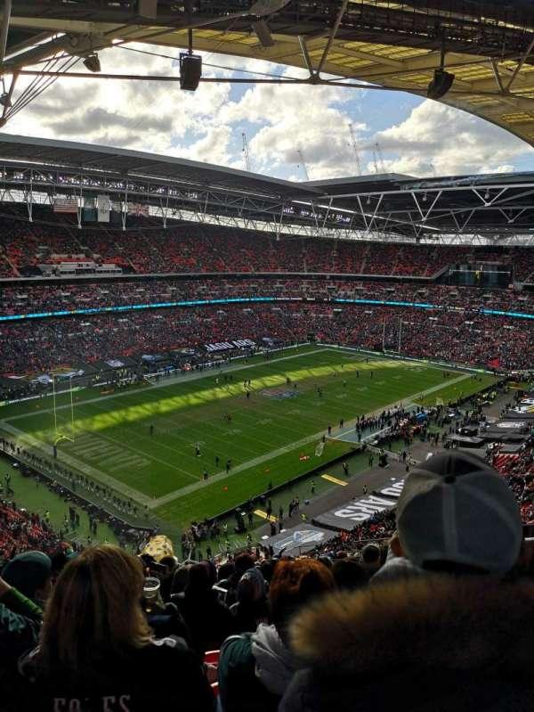 Wembley Stadium, sección: 507, fila: 19, asiento: 211