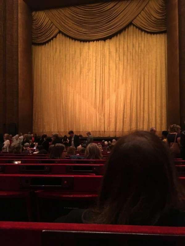 Metropolitan Opera House - Lincoln Center, sección: Orchestra, fila: U, asiento: 117