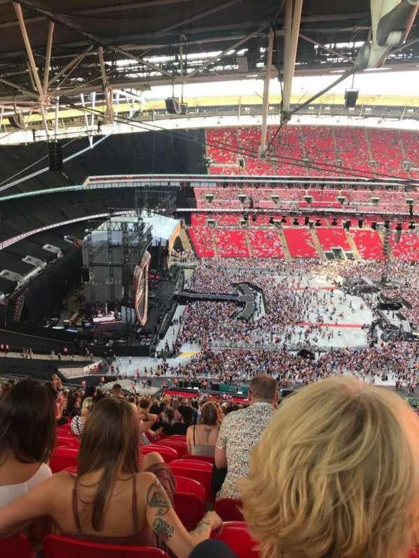 Wembley Stadium, sección: 529, fila: 41, asiento: 83