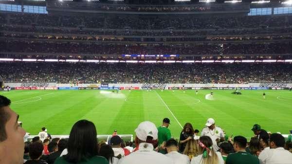 NRG Stadium, sección: 107, fila: U, asiento: 10