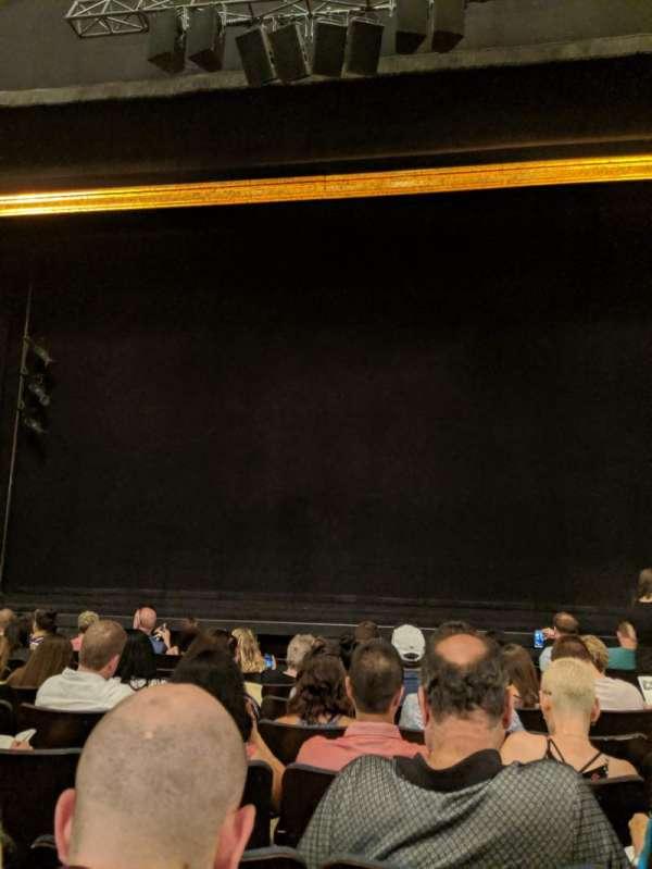 Ambassador Theatre, sección: Orchestra C, fila: G, asiento: 111
