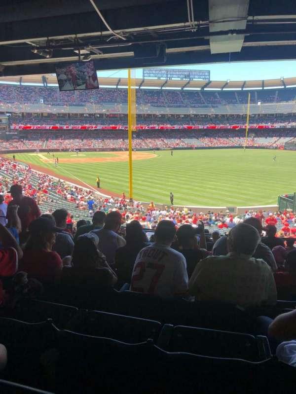 Angel Stadium, sección: T232, fila: J, asiento: 7