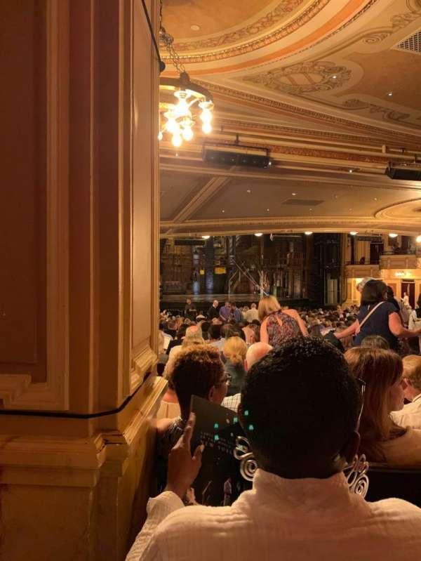 Hippodrome Theatre, sección: Left Orchestra, fila: FF, asiento: 9