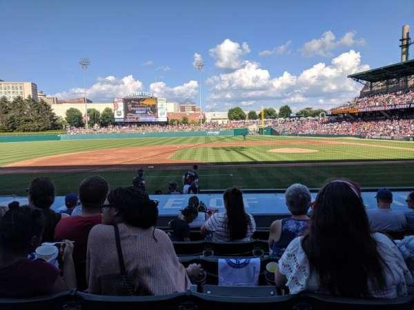 Victory Field, sección: 108, fila: L, asiento: 11