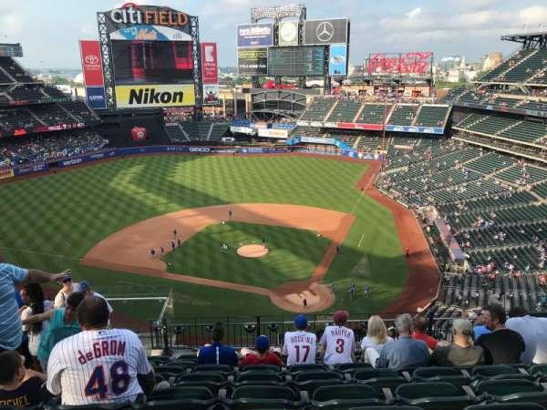 Citi Field, sección: 517, fila: 8, asiento: 9
