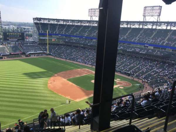 Guaranteed Rate Field, sección: 548, fila: 20, asiento: 4